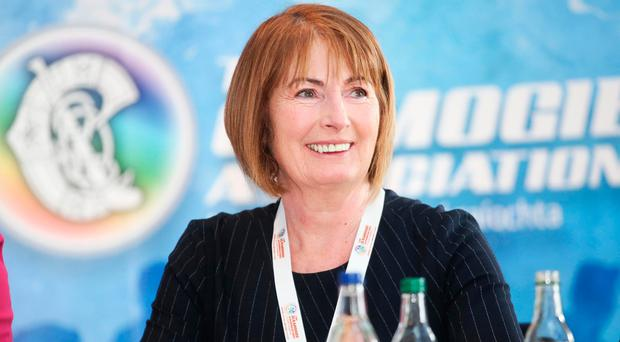 Fully focused: Kathleen Woods, newly-elected president of the Camogie Association