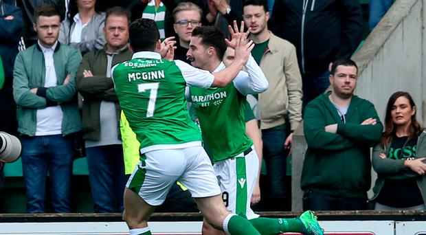 Hibernian put Celtic title celebrations on hold with win at Easter Road