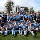 Institute celebrate winning the Bluefin Championship.
