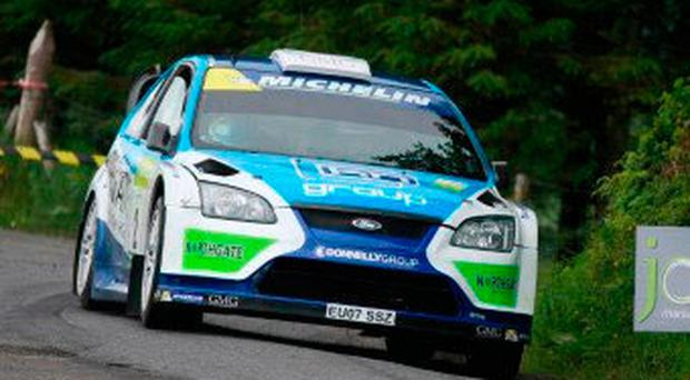 In focus: former champion Donagh Kelly clocked up his third win of the year in his WRC Ford Focus