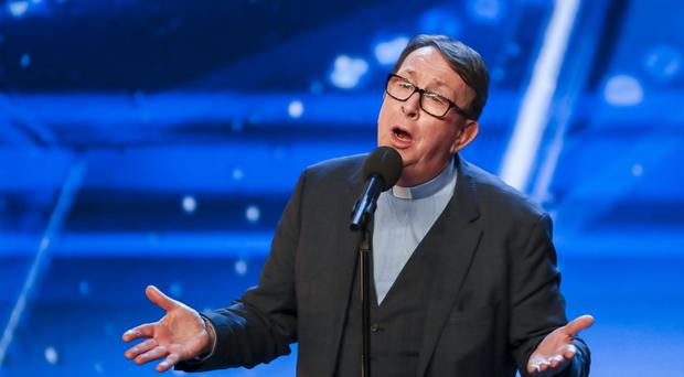 Father Ray Kelly during the audition stage for ITV1's talent show, Britain's Got Talent (Tom Dymond/Syco/Thames/PA)