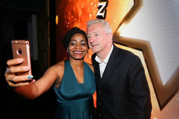 Louis Walsh and fans at the 2018 Spirit of Northern Ireland Awards - Photo by Kelvin Boyes / Press Eye