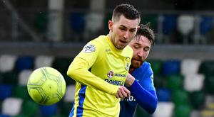 Daniel Hughes has made a swift start to his Dungannon career.
