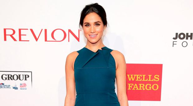 Incredible look: Meghan Markle
