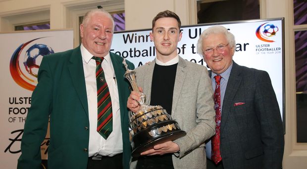 Prize guy: Gavin Whyte is the Ulster Footballer of Year