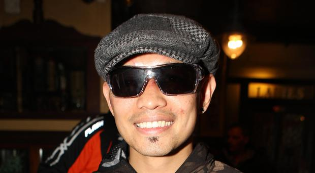 Round one: Nonito Donaire buys drinks in the Crown Bar