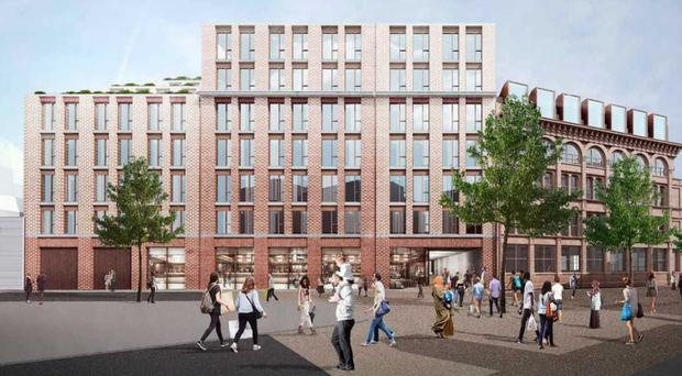 "The old Belfast Telegraph building will be turned into a new development known as ""The Sixth"""