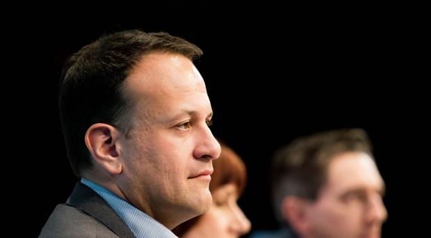 The Taoiseach denied there was discord between the two senior politicians (Tom Honan/PA)