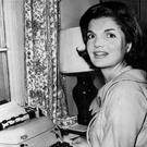 Famous enthusiast: Jacqueline Kennedy on a typewriter