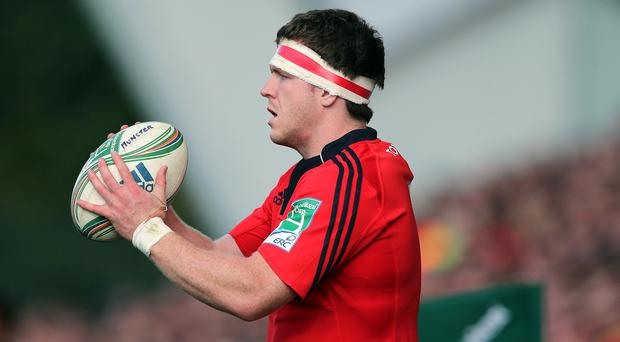 Ton up: Mike Sherry will hit 100 Munster appearances