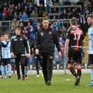 Groundhog day: Stephen Baxter and Crusaders have bad memories of last year's trip to the Showgrounds