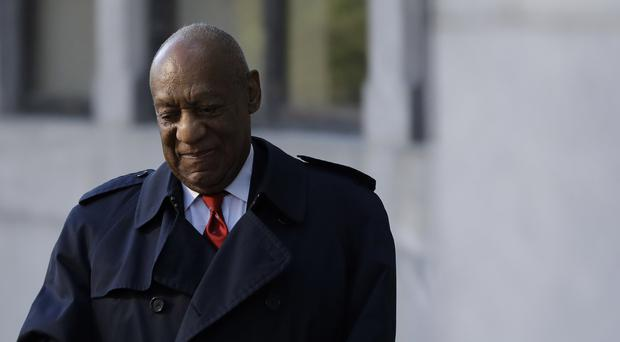Bill Cosby arrives for the second day of jury deliberations (Matt Slocum/AP)