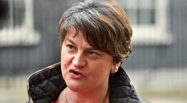 Arlene Foster said Sinn Fein negotiators now needed to prove they could be trusted again (Dominic Lipinski/PA)