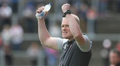 Under pressure: Manager Damian McErlain is hoping to change Derry's fortunes in the Ulster Championship