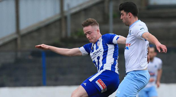 Previous experience: Coleraine ace Aaron Burns knows what it takes to win silverware from his Linfield days