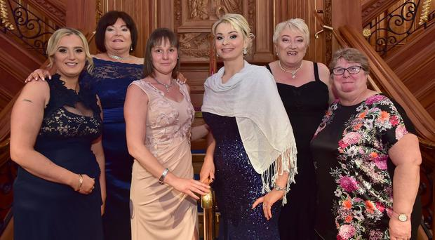 Some of the guests at last night's Fresh Start Agreement gala event at Titanic Belfast