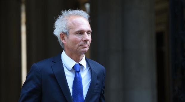 David Lidington said he had sought to reassure people in border areas that the Government was working 'very energetically and with great determination' to resolve the border issue (David Mirzoeff/PA)
