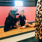 Behind the scenes of the Northern Woman fashion shoot