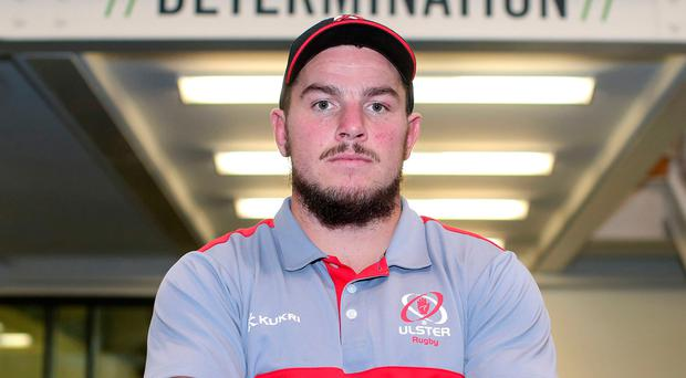 Big intentions: Ulster's Sean Reidy says his side can continue to put off-field issues behind them with a fourth successive win