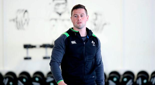 Welcome guest: Ulster's John Cooney will be at St Peter's