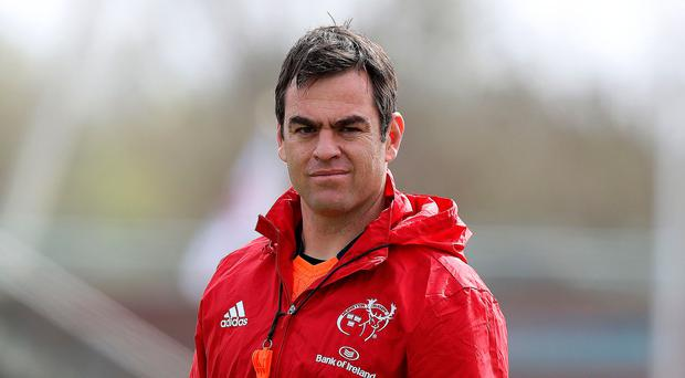 Ringing changes: Munster coach Johann van Grann