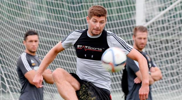 Unlikely candidate: Ex-Liverpool captain Steven Gerrard is favourite to be next Rangers boss