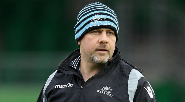 Rumour mill: Englishman Dan McFarland, currently in charge of Scotland's forwards, has a long association with Irish rugby