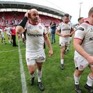 Ulster's Rory Best notched up two tries on Saturday evening.