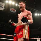 Ideal stage: James Tennyson has drawn inspiration from working alongside Carl Frampton