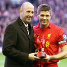 Massive challenge: Steven Gerrard is expected to name former Liverpool team mate Gary McAllister as his assistant at Rangers