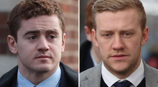 Judgment is to be entered against former Ireland and Ulster rugby stars Paddy Jackson and Stuart Olding in a privacy lawsuit, the High Court has heard (Niall Carson/PA)