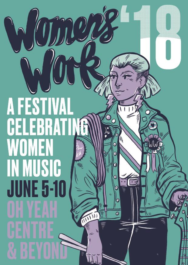 The Oh Yeah Music Centre is hosting a festival celebrating women's contribution to music for the third year.