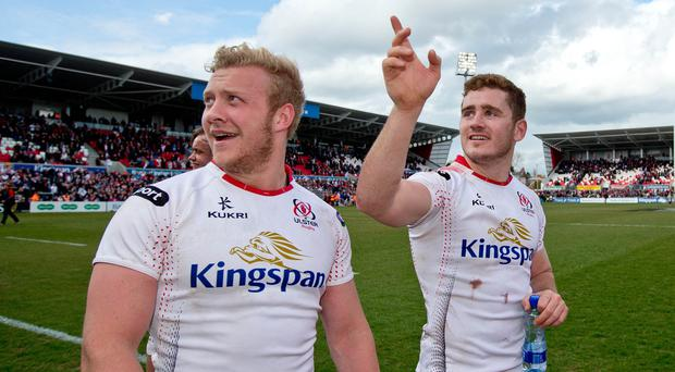 Stuart Olding and Paddy Jackson.