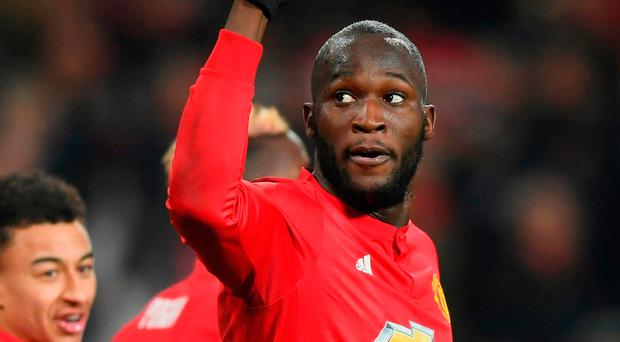Fitness battle: Romelu Lukaku is already on road to recovery