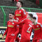 Could Cliftonville be celebrating again tomorrow?