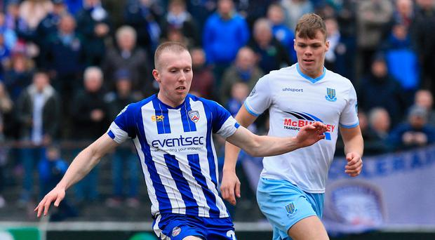 Absolutely buzzing: Stephen Dooley is loving the excitement around Coleraine ahead of the Irish Cup final