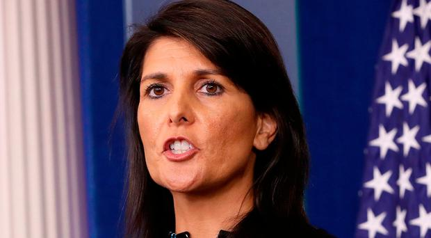 Nikki Haley has been praised for her UN work