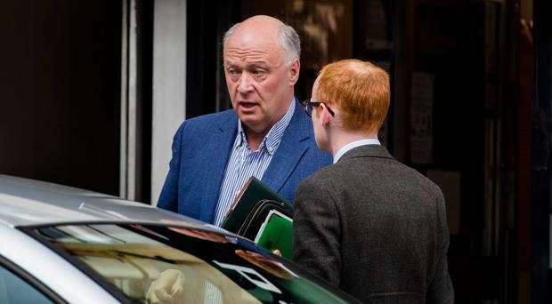 Sunday Life reporter Christopher Woodhouse speaks with DUP David Simpson MP