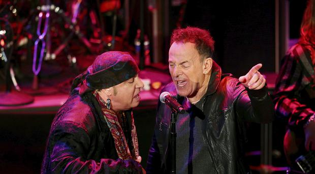 Steven Van Zandt and Bruce Springsteen
