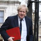 Foreign Secretary Boris Johnson arriving at 10 Downing Street (Stefan Rousseau/PA)
