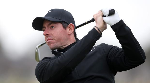 Rory McIlroy is co-hosting the event (Jane Barlow/PA)