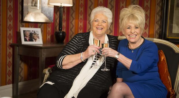EastEnders veterans reunite