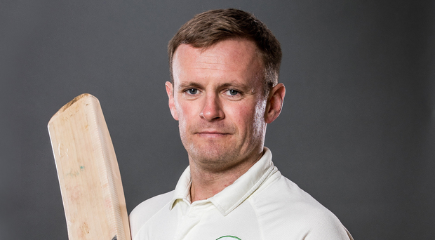 Batter up: William Porterfield is sure Ireland can win their Test debut