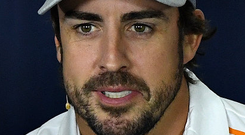 Dual mission: Fernando Alonso