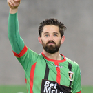 Glentoran's Curtis Allen is hoping he has plenty to celebrate this season.