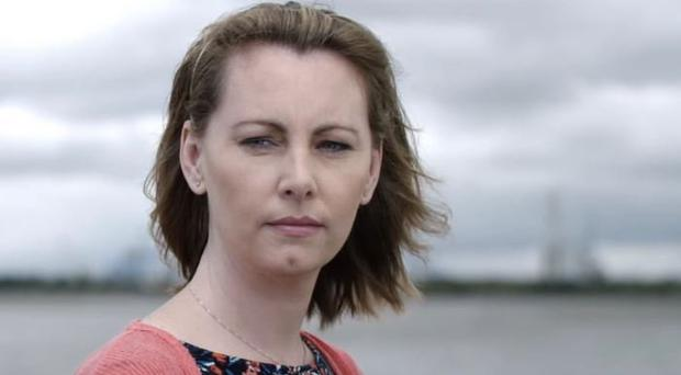 Emma Mhic Mhathuna broke down during her radio interview yesterday
