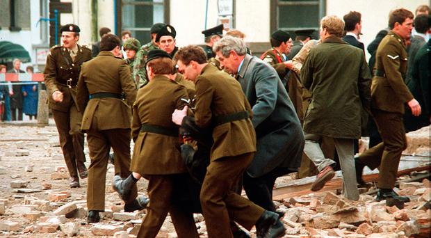 Libyan-supplied Semtex was used in the 1987 IRA bombing of Enniskillen
