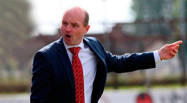 Euro mission: Cliftonville boss Barry Gray is determined to secure European football for next season