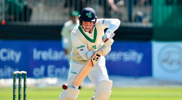 Ireland Test off to dramatic start as Pakistan´s Imam injured first ball