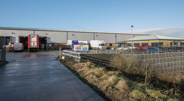 The site for sale at Central Park, Mallusk